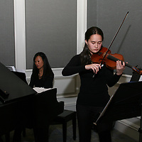 Leah Haynes on Violin