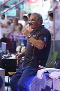 DESCRIZIONE : Reggio Emilia Lega A 2014-15 Grissin Bon Reggio Emilia Banco di Sardegna Sassari finale play off gara 1<br /> GIOCATORE : Romeo Sacchetti<br /> CATEGORIA : ritratto before<br /> SQUADRA : Banco di Sardegna Sassari<br /> EVENTO : Campionato Lega A 2014-2015<br /> GARA : Grissin Bon Reggio Emilia Banco di Sardegna Sassari<br /> DATA : 14/06/2015<br /> SPORT : Pallacanestro <br /> AUTORE : Agenzia Ciamillo-Castoria/E.Rossi<br /> Galleria : Lega Basket A 2014-2015 <br /> Fotonotizia : Reggio Emilia Lega A 2014-15 Grissin Bon Reggio Emilia Banco di Sardegna Sassari finale play off gara 1