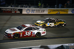 September 22, 2018 - Richmond, Virginia, United States of America - David Ragan (38) battles for position during the Federated Auto Parts 400 at Richmond Raceway in Richmond, Virginia. (Credit Image: © Chris Owens Asp Inc/ASP via ZUMA Wire)