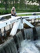 Sörkvarn sluss, Strömsholms kanal.