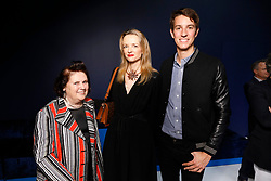 Handout - Suzy Menkes, Delphine Arnault and Alexandre Arnault attend Fenty Launch on May 22, 2019 in Paris, France. Photo by Julien Hekimian for Fenty via ABACAPRESS.COM