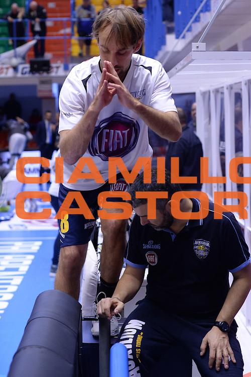 Poeta Giuseppe<br /> Enel Brindisi - Fiat Torino<br /> LegaBasket 2016/2017<br /> Brindisi 30/10/2016<br /> Foto Ciamillo-Castoria
