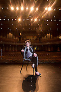 Billie Jo Starr at the Walton Arts Center in Fayetteville, Arkansas Environmental portrait of Billy Joe Starr and Jeff Schomburger at the Walton Arts Center in Fayetteville, Arkansas, for a feature in AY Magazine.