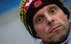 05.01.2013, Paul Ausserleitner Schanze, Bischofshofen, AUT, FIS Ski Sprung Weltcup, 61. Vierschanzentournee, Qualifikation, im Bild Alexander Stoeckl, Trainer (NOR) // Alexander Stoeckl, Trainer (NOR) during Qualification of 61th Four Hills Tournament of FIS Ski Jumping World Cup at the Paul Ausserleitner Schanze, Bischofshofen, Austria on 2013/01/05. EXPA Pictures © 2012, PhotoCredit: EXPA/ Juergen Feichter