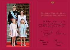 DEC 18 2014 Spanish Royals Christmas Cards