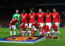 Manchester United side to face Sevilla - Mandatory by-line: Robbie Stephenson/JMP - 13/03/2018 - FOOTBALL - Old Trafford - Manchester, England - Manchester United v Sevilla - UEFA Champions League Round of 16 2nd Leg