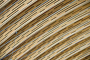 Wood wave roof from BC Pine beetle kill wood at the long-track speed skating rink for the 2010 Olympic Winter Games. Client: VANOC; Architect: Cannon Design; Structural Engineers: Glotman Simpson Consulting Engineers.
