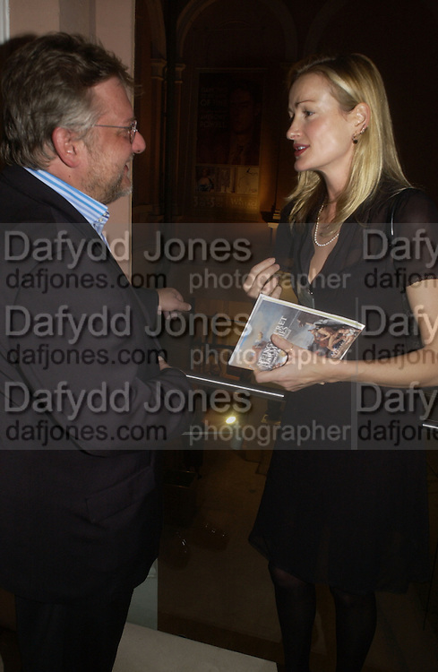 Simon Russell Beale and Georgia Powell. ( Anthony Powell's granddaughter) . Dancing To the Music of Time- The Life and Work of Anthony Powell. The Wallace Collection. Manchester Sq. London. November 2, 2005 in London,. ONE TIME USE ONLY - DO NOT ARCHIVE © Copyright Photograph by Dafydd Jones 66 Stockwell Park Rd. London SW9 0DA Tel 020 7733 0108 www.dafjones.com