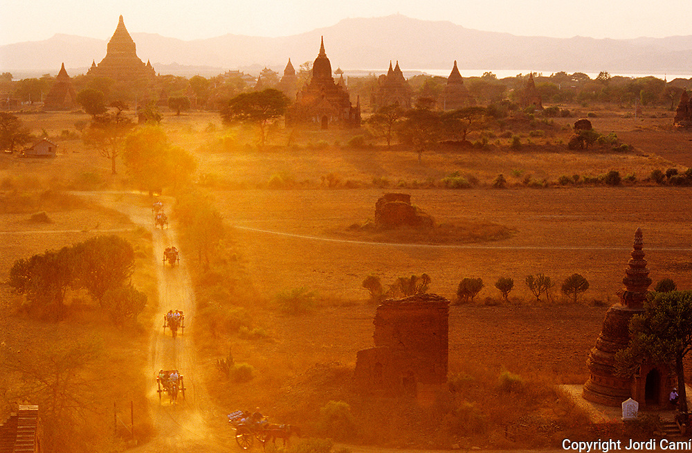 Bagan´s archeological zone. Bagan. Myanmar (Burma)