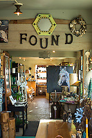 Found, a small boutique in Cannon Beach, OR.