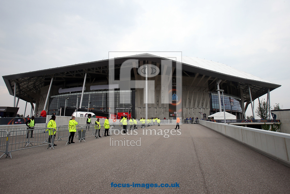 General view of the stadium before the UEFA Europa League Final match at Stade de Lyons, Lyons<br /> Picture by Paul Chesterton/Focus Images Ltd +44 7904 640267<br /> 16/05/2018
