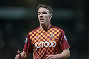 Tony McMahon (Bradford City) during the Sky Bet League 1 match between Bradford City and Southend United at the Coral Windows Stadium, Bradford, England on 16 February 2016. Photo by Mark P Doherty.
