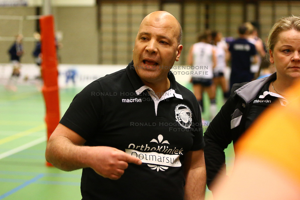 20160319 NED: Volleybal: Sliedrecht Sport - Springendal Set Up 65, Sliedrecht<br />Brahim Abchir
