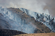 June 22, 2017<br /> The Hunter Creek Fire burns just west of downtown Reno, Nevada, on Thursday, June 22, 2017.