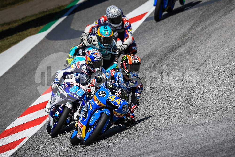 Aron Canet of spain and Estrella Galicia 0.0 rides during the Race for the MotoGP of Catalunya at Circuit de Catalunya on June 11, 2017 in Montmelo, Spain.(Rafa Babot/ AFP7)for the MotoGP of Catalunya at Circuit de Catalunya on June 10, 2017 in Montmelo, Spain.(Rafa Babot/ AFP7)
