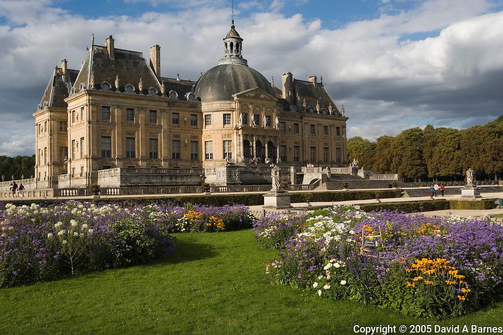 Chateau Vaux-le-Vicomte, Seine-et-Marne, Ile de France, France