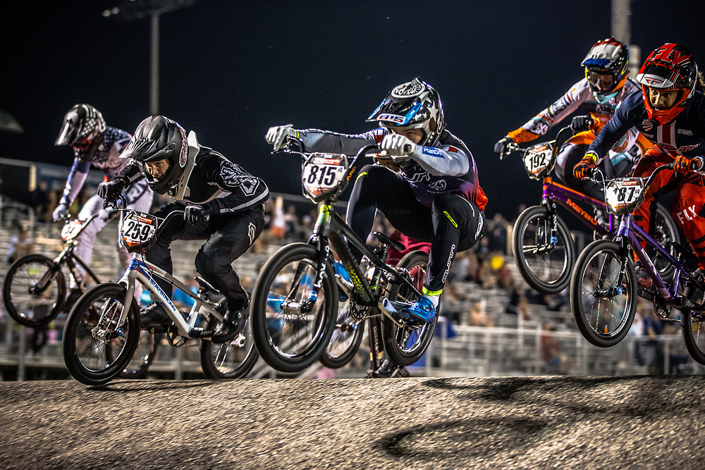 #815 (CLERTE Eddy) FRA [Sunn, Kenny, Prostart] at Round 7 of the 2019 UCI BMX Supercross World Cup in Rock Hill, USA