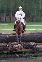 De Smet Stefaan (BEL) - Lincoln<br /> nationaal Kampioenschap Eventing LRV - Zutendaal 1998<br /> © Dirk Caremans