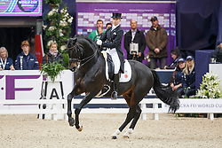 Von Bredow-Werndl Jessica, (GER), Unee BB<br /> Grand Prix Freestyle<br /> Reem Acra FEI World Cup Dressage - Goteborg 2016<br /> © Hippo Foto - Dirk Caremans<br /> 27/03/16