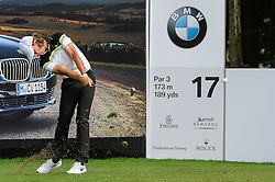 26.06.2015, Golfclub München Eichenried, Muenchen, GER, BMW International Golf Open, Tag 2, im Bild Tommy Fleetwood (ENG) // during Day two of the BMW International Golf Open at the Golfclub München Eichenried in Muenchen, Germany on 2015/06/26. EXPA Pictures © 2015, PhotoCredit: EXPA/ Eibner-Pressefoto/ Schreyer<br /> <br /> *****ATTENTION - OUT of GER*****