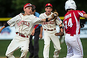 Barnstable, MA versus Fairfield American, CT during a New England Regional Little League semi-final game played at Breen field, Bristol, CT on Thursday, August, 7nd, 2014. Photo by: Mark Conrad