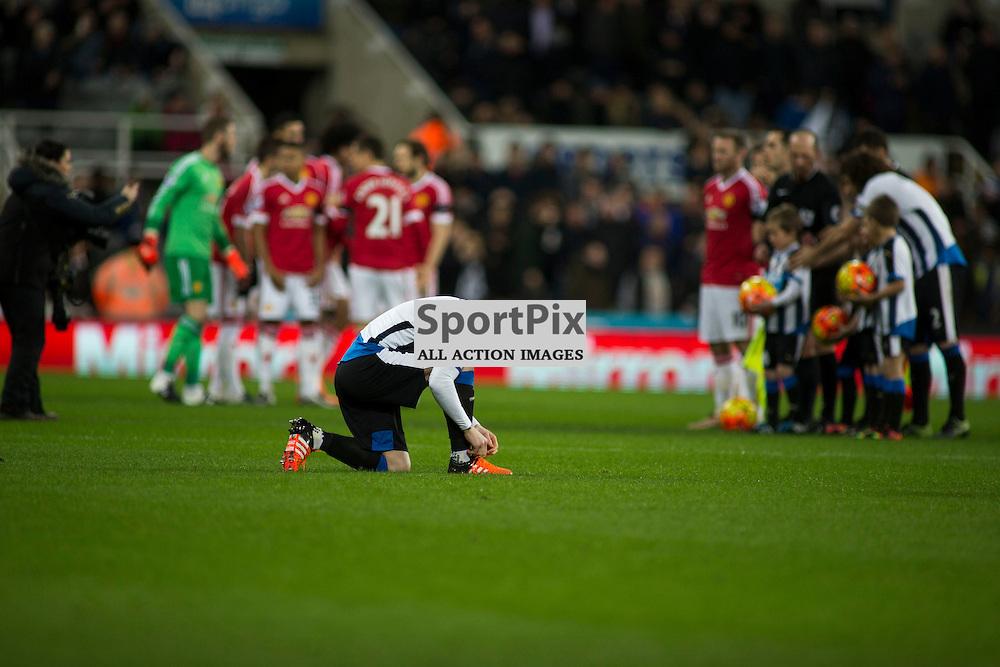 Newcastle v Manchester Utd 12 January 2016<br />pre-match<br />(c) Russell G Sneddon / SportPix.org.uk