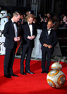 Star Wars The Last Jedi European premiere
