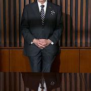 MIAMI, FLORIDA - FEBRERO 3, 2016-<br /> El Doctor Eduardo Padr&oacute;n, Presidente del Miami Dade College, la universidad p&uacute;blica mas grande en los EEUU, posa para un retrato en la sala de conferencias del campus en downtown Miami. <br /> (Foto  por Angel Valentin/Freelance)