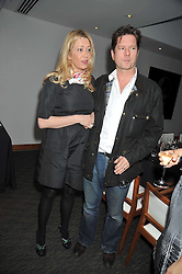 BEN & TANIA MUSGRAVE at a dinner hosted by Ruinart Champagne for Yasmin Mills at Nobu, Park Lane, London on rth May 2009.