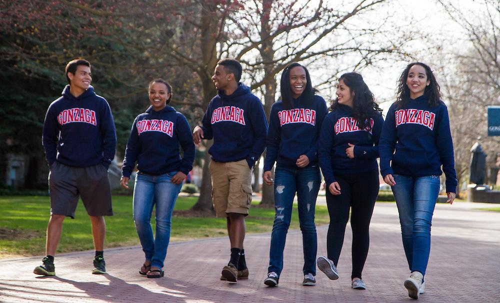 Gonzaga Act Six Scholars. (Photo by Gonzaga University)
