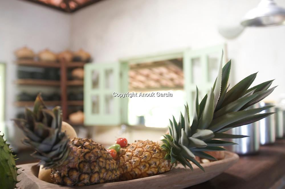 Bahianaise Kitchen and pineapple | cuisine bahianaise et ananas Adresses de charmes, adresses secrètes au Brésil