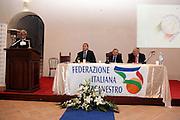 MINTURNO 29/11/2009<br /> FEDERAZIONE ITALIANA PALLACANESTRO FIP<br /> SCAURI 2010. IL BASKET NEL FUTURO<br /> NELLA FOTO ARCERI MENEGHIN PETRUCCI LAGUARDIA<br /> FOTO CIAMILLO