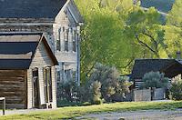 Bannack ghost town site, Bannack State Park Montana