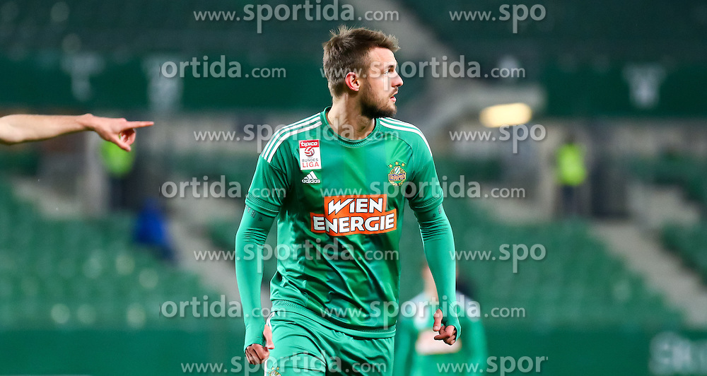 12.03.2016, Ernst Happel Stadion, Wien, AUT, 1. FBL, SK Rapid Wien vs FC Admira Wacker Mödling, 27. Runde, im Bild Philipp Prosenik (SK Rapid Wien)// during Austrian Football Bundesliga 27th round match between SK Rapid Vienna and FC Admira Wacker Mödling at the Ernst Happel Stadion, Vienna, Austria on 2016/03/12, EXPA Pictures © 2016, PhotoCredit: EXPA/ Sebastian Pucher