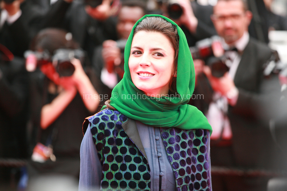 Leila Hata at Jimmy's Hall gala screening red carpet at the 67th Cannes Film Festival France. Thursday 22nd May 2014 in Cannes Film Festival, France.