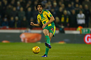 West Bromwich Albion defender Ahmed Hegazy (26)  during the EFL Sky Bet Championship match between Sheffield United and West Bromwich Albion at Bramall Lane, Sheffield, England on 14 December 2018.