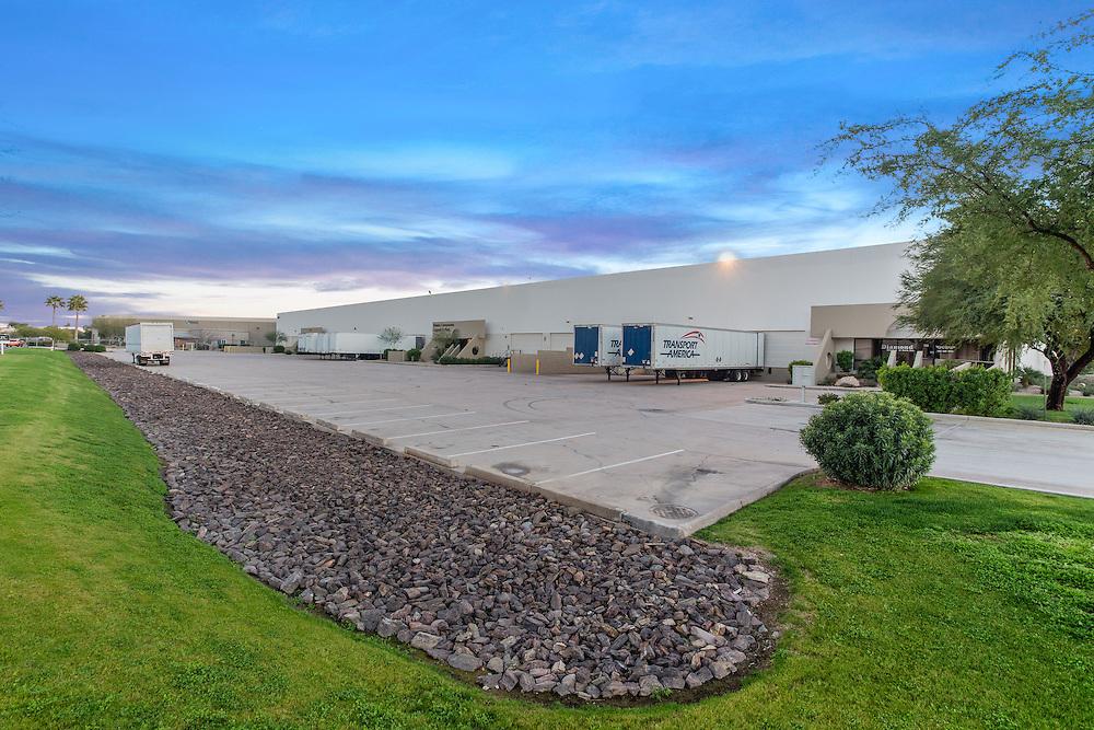 Phoenix, Arizona commercial real estate photographer sunset