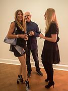 SIMONE SCHLYTTER-HENRICKSEN; ; THOMAS SCHLYTTER-HENRICKSEN; HELLA POHL, Opening of Galerie Thaddaeus Ropac London, Ely House, 37 Dover Street.. Mayfair. London. 26 April 2017.