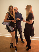 SIMONE SCHLYTTER-HENRICKSEN; ; THOMAS SCHLYTTER-HENRICKSEN; HELLA POHL, Opening of Galerie Thaddaeus Ropac London, Ely House, 37 Dover Street.. Mayfair. London. 26 April 2017.