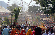 Crowds at the Pushkar Fair, Rajasthan, India