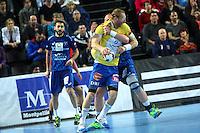 Karol Bielecki - 15.03.2015 - Montpellier / Kielce - 1/8Finale aller Ligue des Champions<br /> Photo : Andre Delon / Icon Sport