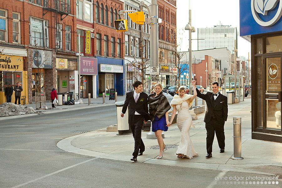 City Hall Wedding Cambridge Ontario