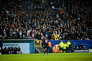 25.11.2015. Malmö, Sweden. <br /> Zlatan Ibrahimovic of Paris applauds the crowd during their UEFA Champions League against Malmö FF at the Malmö Stadium. <br /> Photo: © Ricardo Ramirez.