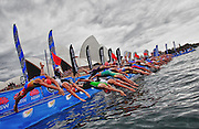 ITU World Cup Female Start at the Sydney Opera House