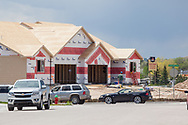 Construction at Saddle Ridge residential area in Cheyenne, WY.