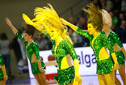 Dragon Ladies during Slovenian basketball All Stars Domzale 2012 event, on January 2, 2012 in Hala Komunalnega centra, Domzale, Slovenia.  (Photo By Vid Ponikvar / Sportida.com)