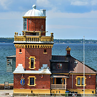 Lighthouse and Pilot Station in Helsingborg, Sweden<br />