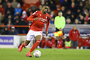 Nottingham Forest midfielder Adama Diakhaby during the EFL Sky Bet Championship match between Nottingham Forest and Charlton Athletic at the City Ground, Nottingham, England on 11 February 2020.