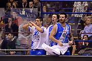 DESCRIZIONE : Milano Coppa Italia Final Eight 2014 Finale Montepaschi Siena Banco di Sardegna Sassari<br /> GIOCATORE : Brian Sacchetti<br /> CATEGORIA : esultanza team<br /> SQUADRA : Banco di Sardegna Sassari<br /> EVENTO : Beko Coppa Italia Final Eight 2014<br /> GARA : Montepaschi Siena Banco di Sardegna Sassari<br /> DATA : 09/02/2014<br /> SPORT : Pallacanestro<br /> AUTORE : Agenzia Ciamillo-Castoria/C.De Massis<br /> Galleria : Lega Basket Final Eight Coppa Italia 2014<br /> Fotonotizia : Milano Coppa Italia Final Eight 2014 Finale Montepaschi Siena Banco di Sardegna Sassari<br /> Predefinita :