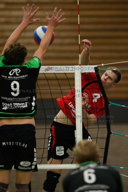 20161029 NED: Eredivisie, Vallei Volleybal Prins - Advisie SSS: Ede<br />Joris Zwanenburg of Vallei Volleybal Prins <br />&copy;2016-FotoHoogendoorn.nl / Pim Waslander
